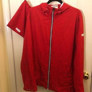 Hunter for Target red rain coat
